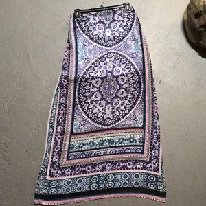 Express skirt mandala pattern